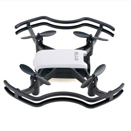 Mikkar Selfie Drone New Gesture Command Craft Optical Flow Fixed Point 2MP WiFi FPV by Mikkar