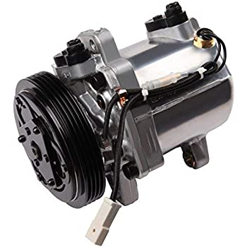 ECCPP A/C Compressor with Clutch fit for 1999-2005 Vitara Suzuki Grand Vitara Esteem CO10620C Car Air AC Compressors Kit