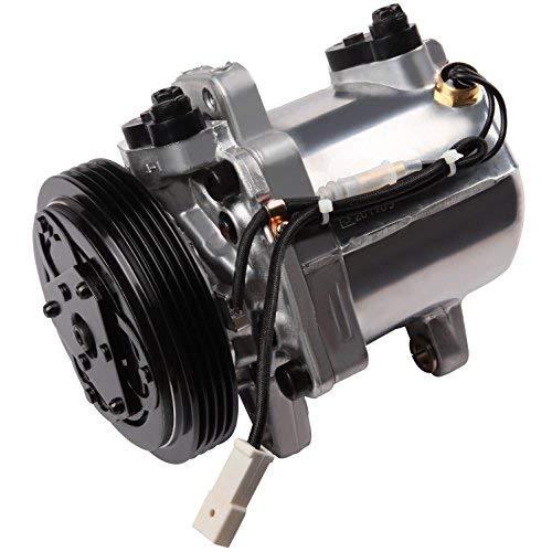 (ECCPP A/C Compressor with Clutch fit for 1999-2005 Vitara Suzuki Grand Vitara Esteem CO10620C Car Air AC Compressors)