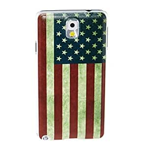 JOE Kinston American Flag Pattern Plastic Hard Case for Samsung Note3