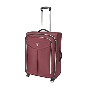 Atlantic Luggage Ultra Lite 2 29 Inches Expandable Spinner, Magenta, One Size