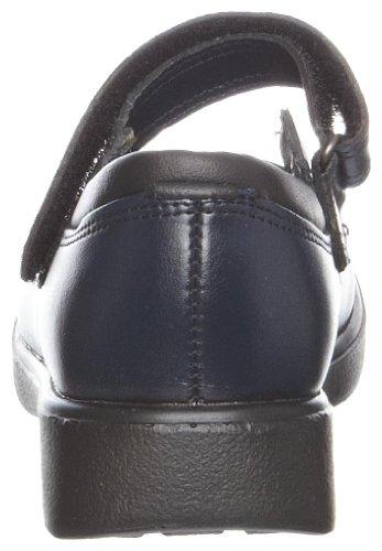 Toughees Shoes  Vivianne Velcro,  Mädchen Schule Dunkelblau