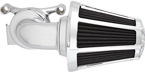 Arlen Ness 81028 Monster Sucker Air Cleaner Kit with Cover - Beveled - Chrome
