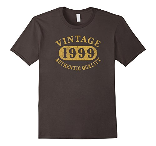 Mens 19 years old 19th B-day Birthday Gift Vintage 1999 T-Shirt Large (1999 Gift)