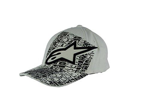 Alpinestars Develop Flexfit Hat , Distinct Name: Develop White, Gender: Mens/Unisex, Primary Color: White, Size: Lg-XL 101281003020LXL