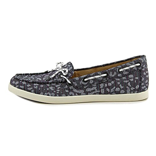 Naturalizer Women's Ginnie Moc Toe Shoe Leopard Printed Fabric qMHObV7P