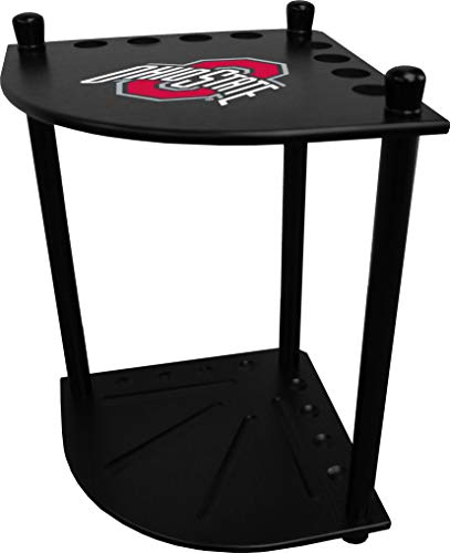 Imperial Officaly Licensed NCAA Furniture: Corner Cue Rack, Ohio State