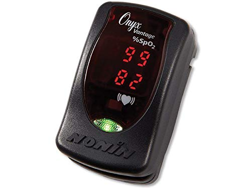 Nonin Onyx - Nonin Onyx Vantage 9590 Finger Pulse Oximeter, Black