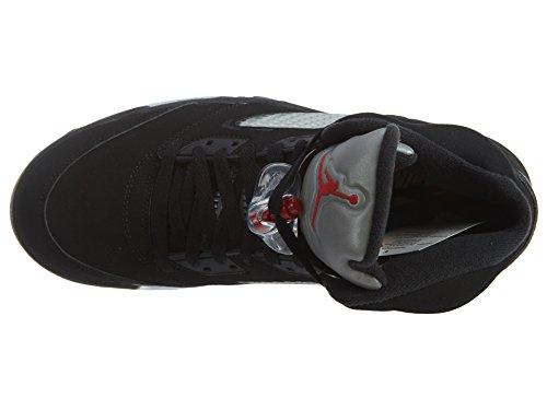 845035 Sport metallic Rouge Nike Multicolore de Black white Red Chaussures 003 Silver Fire Blanc Homme Noir Nero Argent dwwqIFzZ