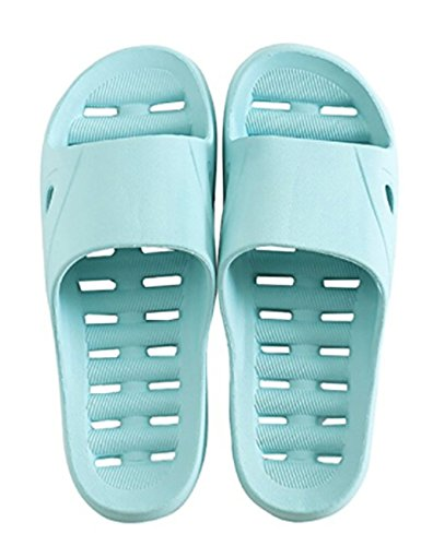 Greenery GRE Hole Blue Quick Indoor Mens Slippers Sandals Slippers Drying Womens Bath Swimming Shower Spa xaSRrqxdw