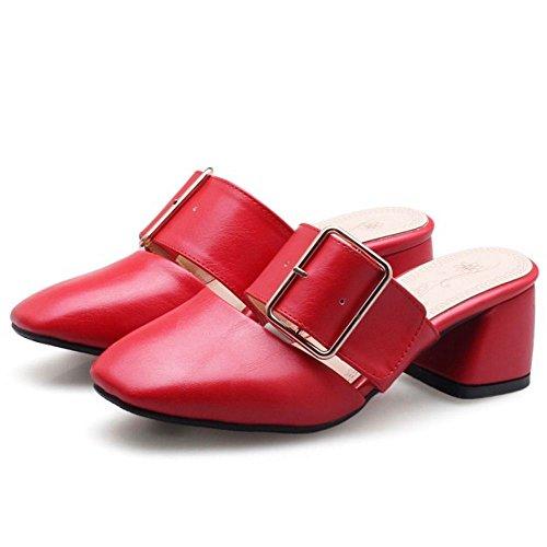 red Chaussures 1 Melady Ete d Sandales Femmes wpxxq18TF