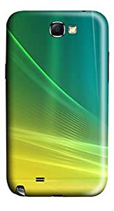 Abstract Gradient Background PC Case Cover for Samsung Galaxy Note II N7100