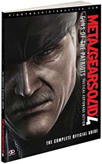 amazon com metal gear solid 4 strategy guide computers accessories rh amazon com metal gear solid 4 guide officiel pdf metal gear 2 guide you tube