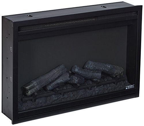 "ClassicFlame 36EB110-GRT 36"" Traditional Built-in Electric Fireplace Insert, 120 volt image"