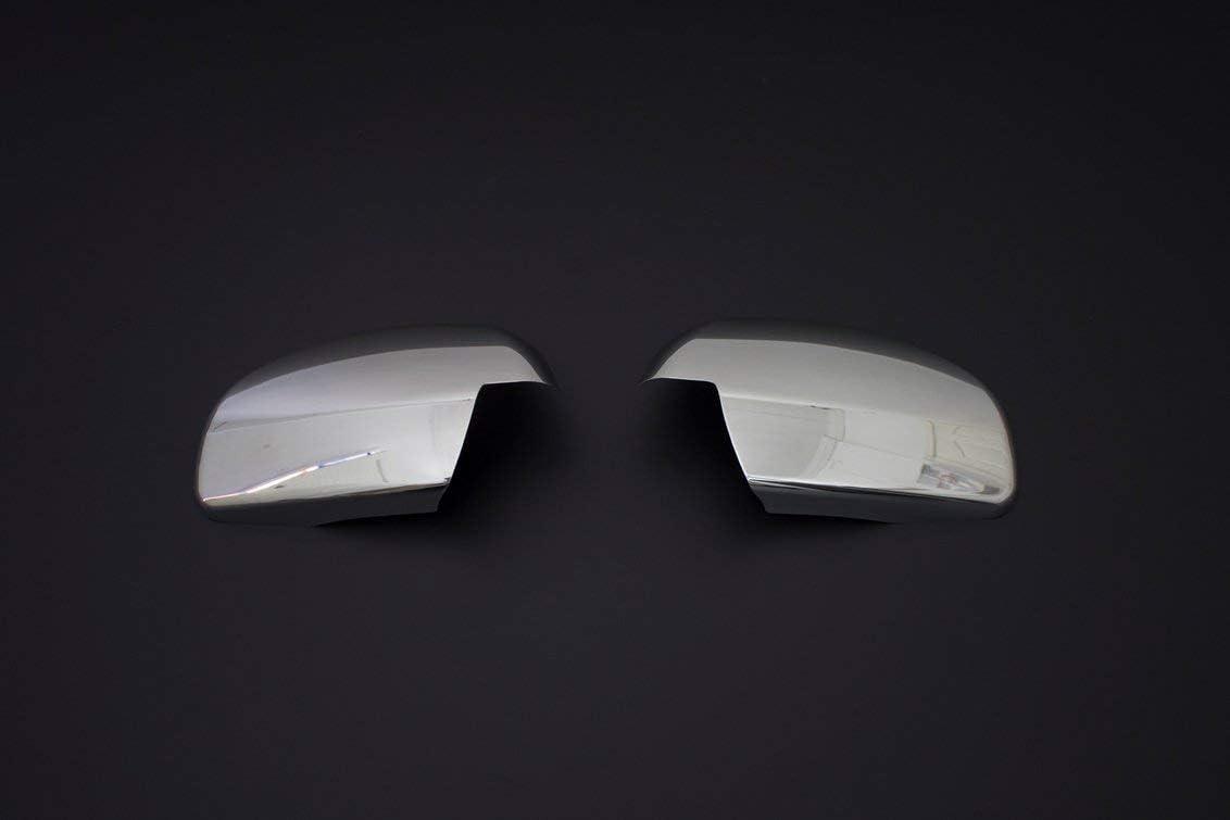 2 piezas VECTRA C /& SIGNUM cubierta de espejo de acero inoxidable cromado
