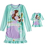 Disney's The Nutcracker and The Four Realms Clara Nightgown & Matching Doll Nightgown - Girls