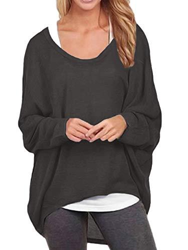 ZANZEA Losse Asymmetrische Trui Dames Sweaters Blousetops Oversized Tops