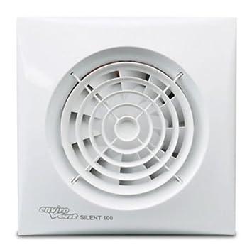 Envirovent Silent 100 HT Bathroom Extractor Fan Humidistat   Timer. Envirovent Silent 100 HT Bathroom Extractor Fan Humidistat   Timer