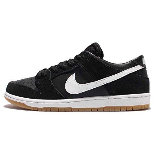 Nike Men's Sb Zoom Dunk Low Pro Black/white Gum Light Brown Skate Shoe (6)