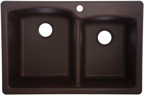 Franke USA EO33229-1 Double Basin Drop In/Undermount Kitchen