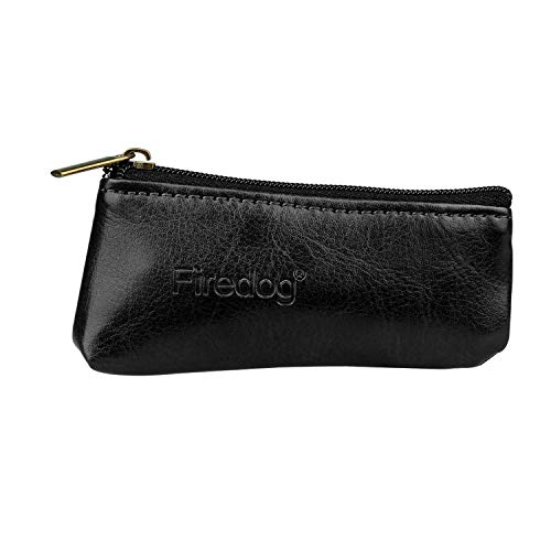 firedog Durable Zipper Cigarette Portable Smoking Pipe Tobacco Pouch Case Bag Holder(miniature)