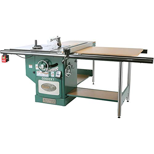 Grizzly Industrial G0605X1-12″ 5 HP 220V Extreme Table Saw