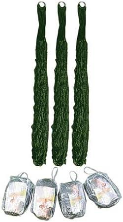 Ultra Leggera e Facile da riporre nello Zaino The Khan Outdoor /& Lifestyle Company Amaca ultraleggere//Verde//Mimetico