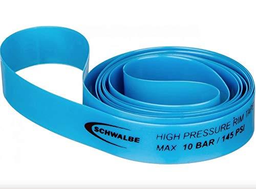 Schwalbe High Pressure Bicycle Rim Tape - 1 Roll (Blue - 700 x 16mm)