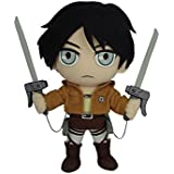 "Great Eastern Attack on Titan 9.5"" Eren Yeager Plush"