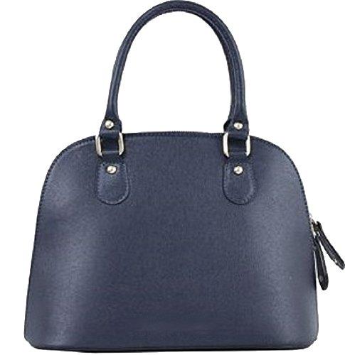 Bottega Carele - Leather Tote Bag For Turquoise Woman