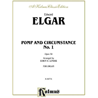 Pomp and Circumstance No. 1 in D, Op. 39 (Kalmus Edition) book cover