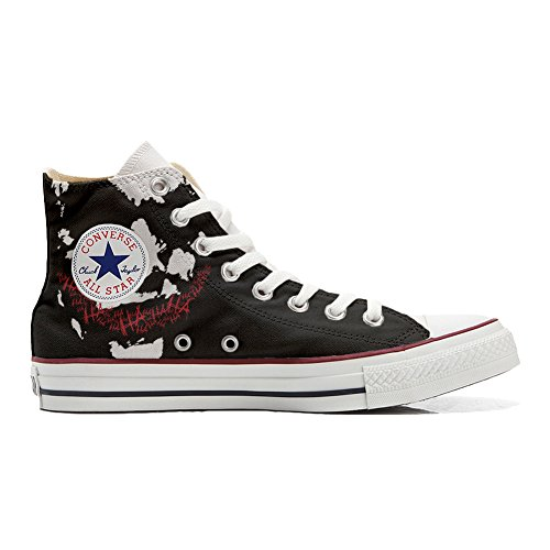 Converse Chaussures Coutume Art Adulte produit Face Artisanal Customized rEq1E