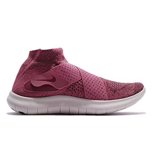 Nike Womens Wmns Free Rn Motion Fk 2017, Vintage Wine / Rush Maroon-black, 8.5 Us