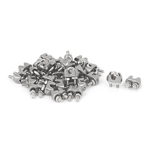 edealmax-2mm-304-cuerdas-de-alambre-de-acero-inoxidable-cable-abrazadera-del-clip-de-tono-de-plata-30pcs