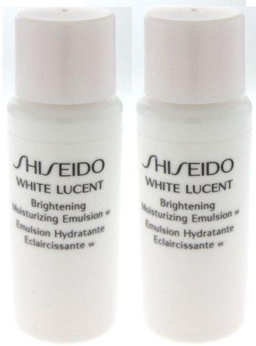 2 Shiseido White Lucent Brightening Moisturizing Emulsion Samples 14ml