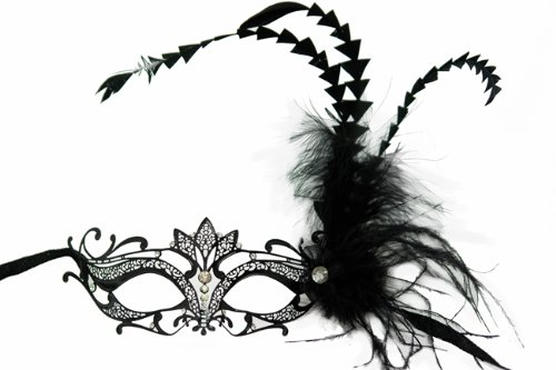 NEW C (Black Beauty Feather Mask)