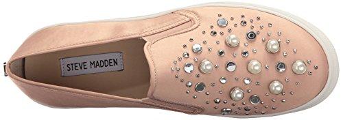 Steve Madden Kvinna Glade Mode Sneaker Rodna Satin