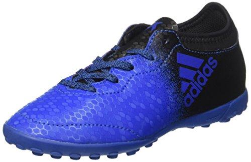 adidas X TANGO 16.3 TF J - Botas de fútbolpara niños, Azul - (AZUL/NEGBAS/ROSIMP), -31