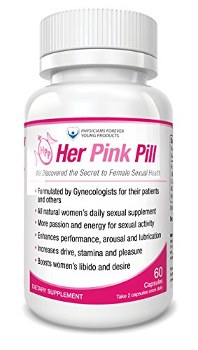 Her Pink Pill - Female Libido Enhancer. All Natural Women Libido Booster - Arousal Supplement for Improved Sexual ()