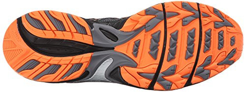 Asics Mens Gel Venture 5 Scarpe Da Corsa Carbon / Black / Hot Orange