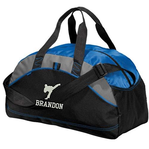 Personalized Karate Taekwondo Duffel Gym Bag - Embroidered