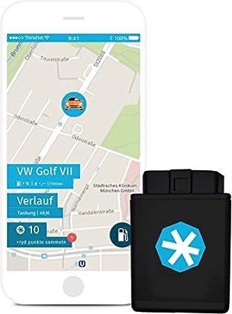 Sim Karte Auslesen.Ryd Box Obd Stecker Auto App Mit Sim Karte Gps Tracker Elektronische Fahrtenbuch Option Diebstahlwarnung Fehlerspeicher Auslesen
