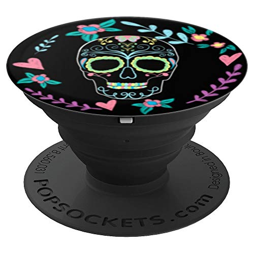 Radiologic Technologist - Rad Tech Week Sugar Skull Design - PopSockets Grip and Stand for Phones and Tablets
