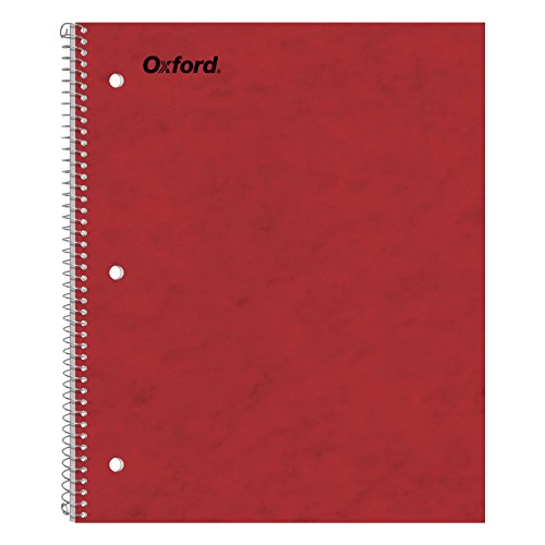 Ampad Single Wire Notebook, Size 11 x 9, 1 Subject, Assorted Covers, 100 Sheets, College Ruled (25-009)
