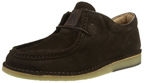 Hush Puppies Hancock Low, Stivali Chukka Uomo Marrone (Chocolate)