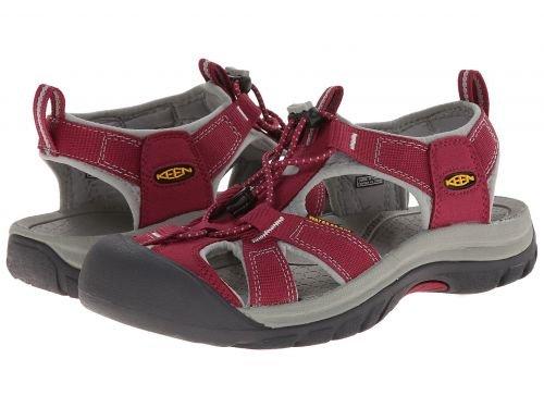 欲望社会ハイジャックKeen(キーン) レディース 女性用 シューズ 靴 サンダル Venice H2 - Beet Red/Neutral Gray [並行輸入品]