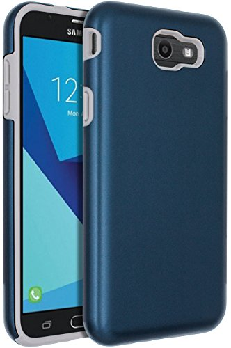 - SENON Slim-fit Shockproof Anti-Scratch Anti-Fingerprint Protective Case Cover For Samsung Galaxy J7 V 2017,Galaxy J7 2017,Galaxy J7 Sky Pro,Galaxy J7 Perx,Galaxy J7 2017(AT&T),Blue