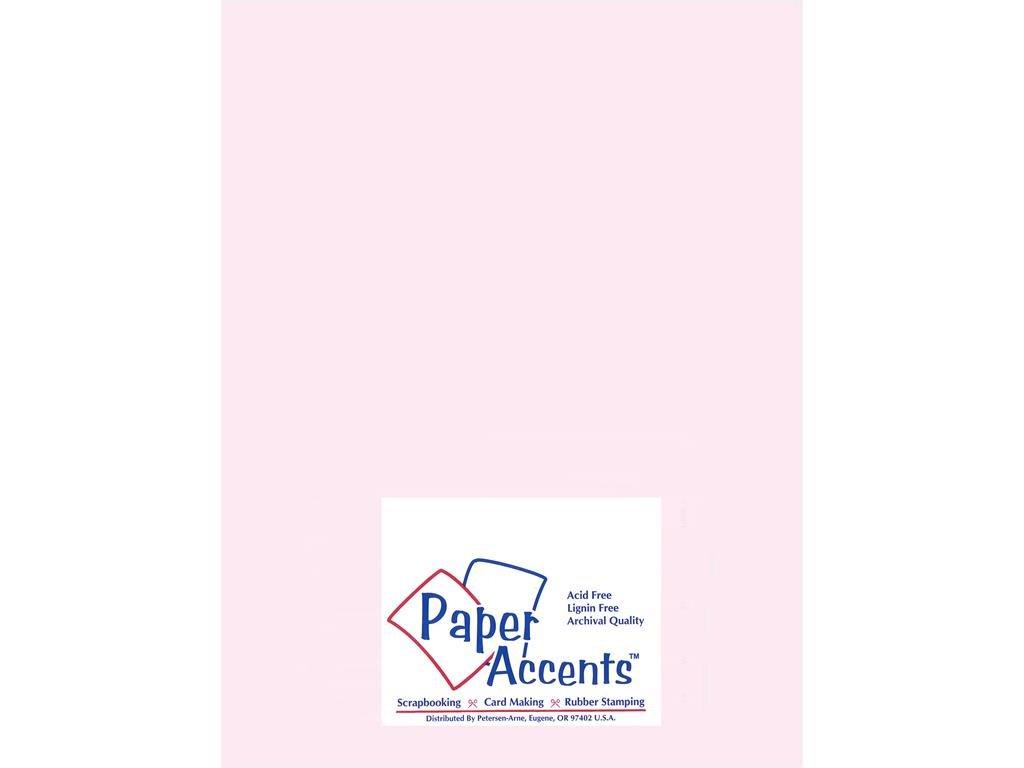Accent Design Paper Accents ADP8511-5.936 8.5x11 Light Pink Vellum