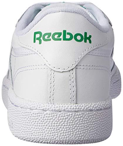Reebok Herren Club C 85 Sneakers, Elfenbein (Int-white/green), 42 EU 3