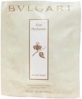 Bvlgari au the blanc (white tea) bath tea bags Set of 6
